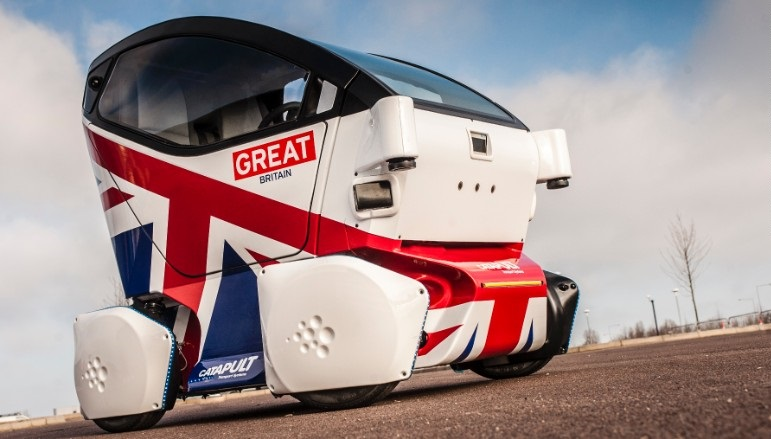 driverless car uk
