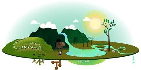 Google Doodle Tag der Erde 2013