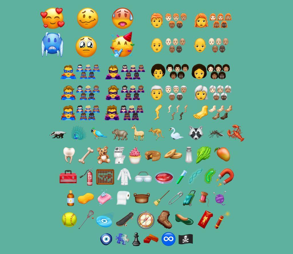 emoji 11 übersicht