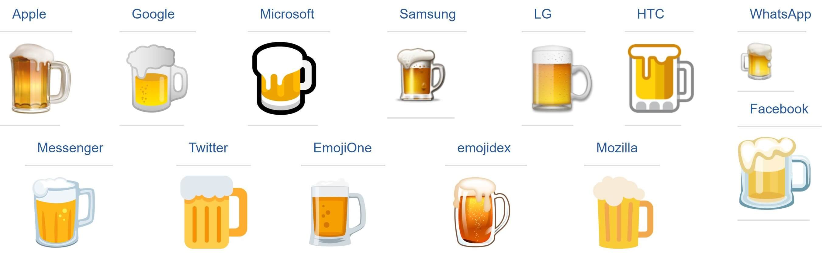 emoji beer