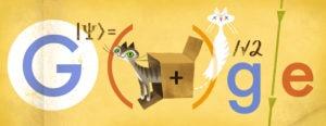 Google Doodle Erwin Schrödinger