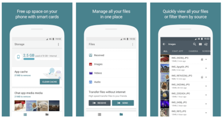 Google Files Go APK (Beta) - Android App