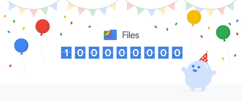 files go 100 million