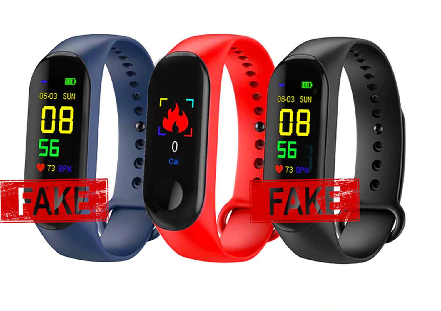 fitness tracker fake