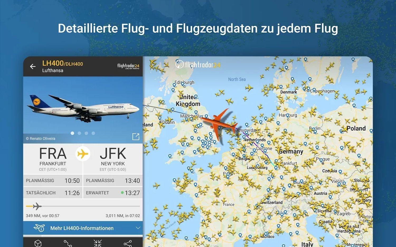 flightradar app