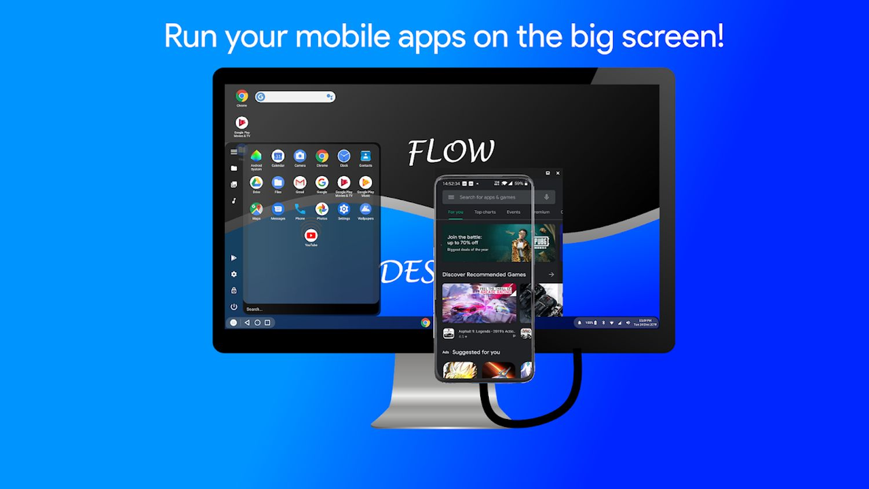 flow desktop ad