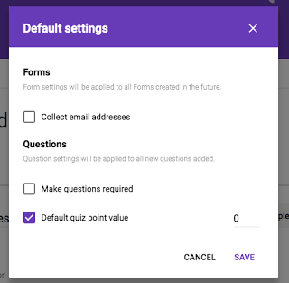 forms preferences