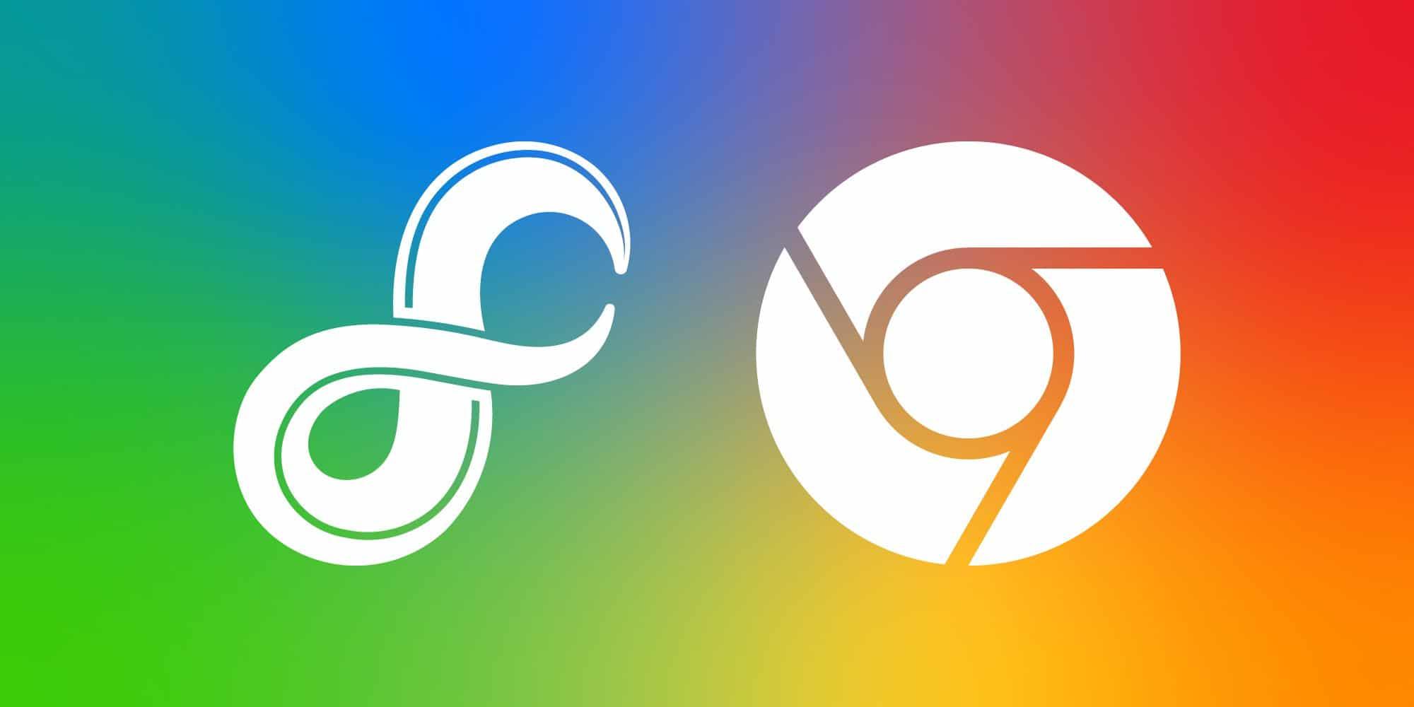 fuchsia chrome logo