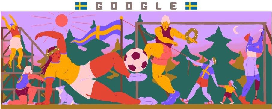 fussball weltmeisterschaft der frauen 2019 schweden doodle