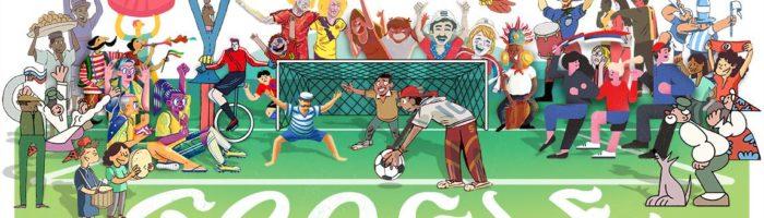 fussball wm 2018 google doodle