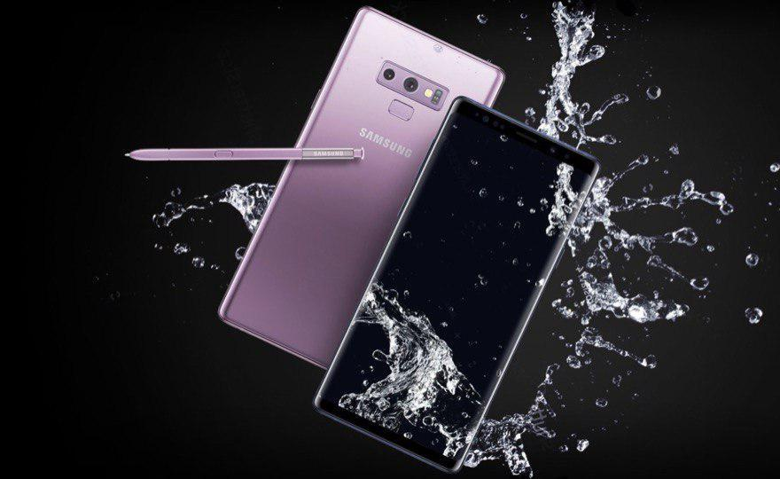galaxy note 9 smartphone