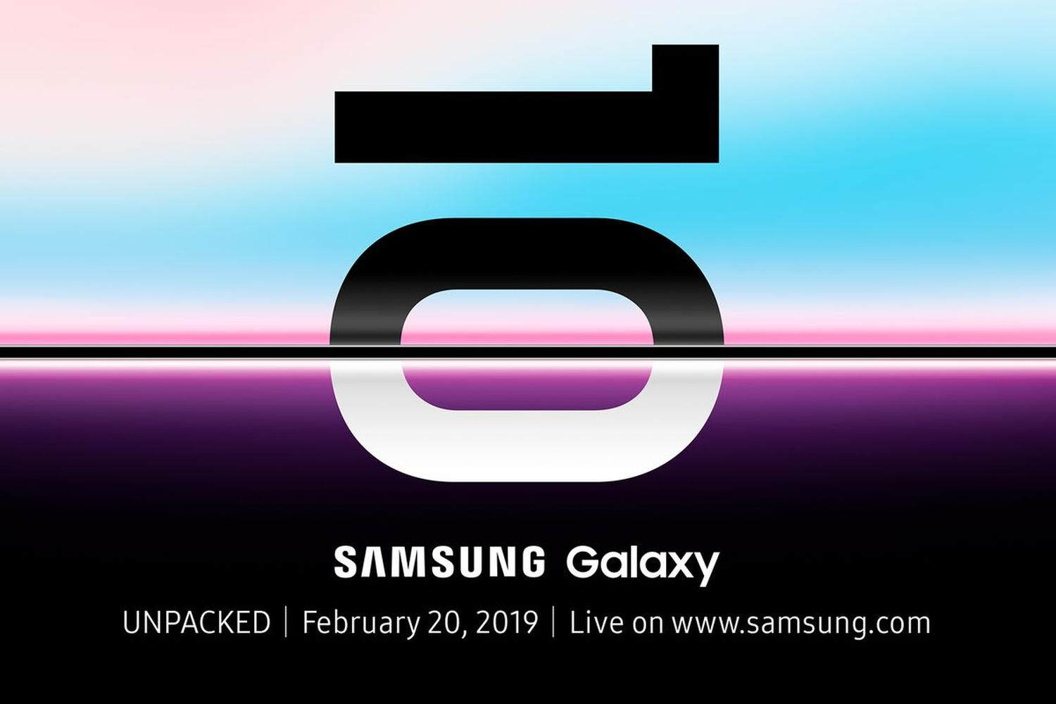 galaxy s10 unpacked logo