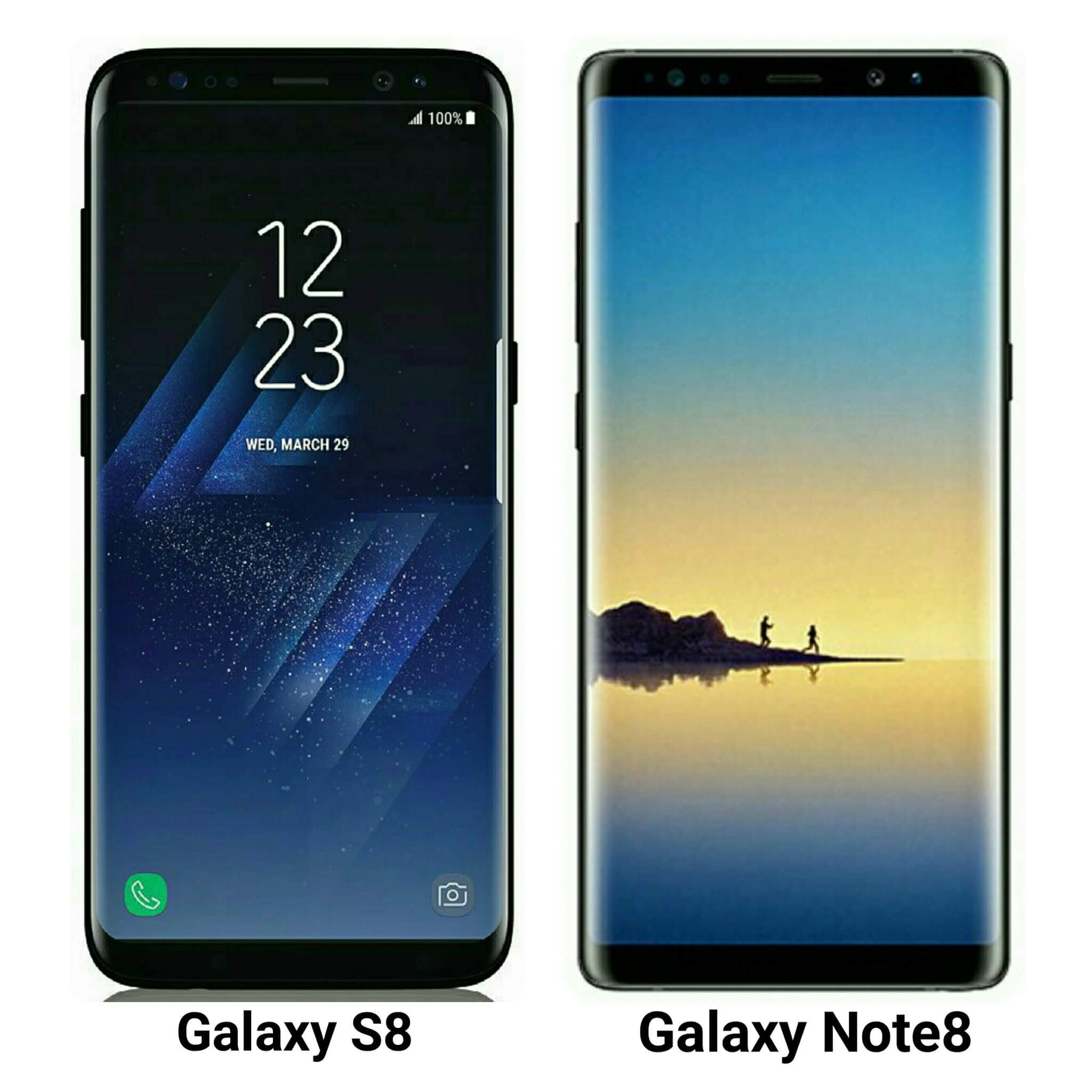 Galaxy S8 Note 8