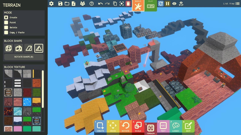 game builder level