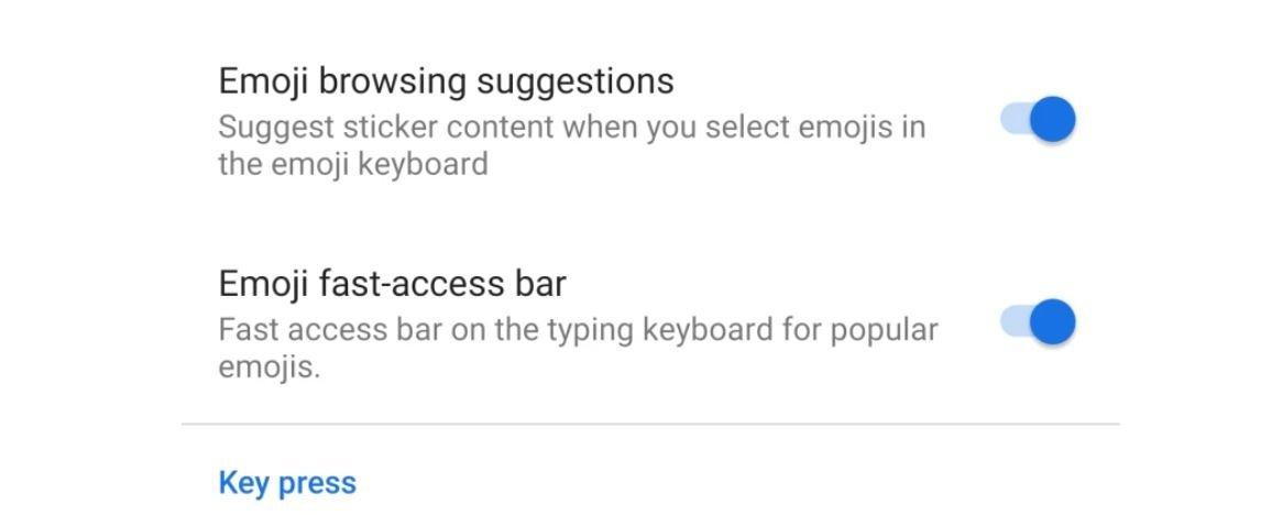 gboard april new emoji bar