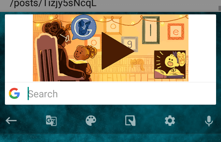 gboard doodle
