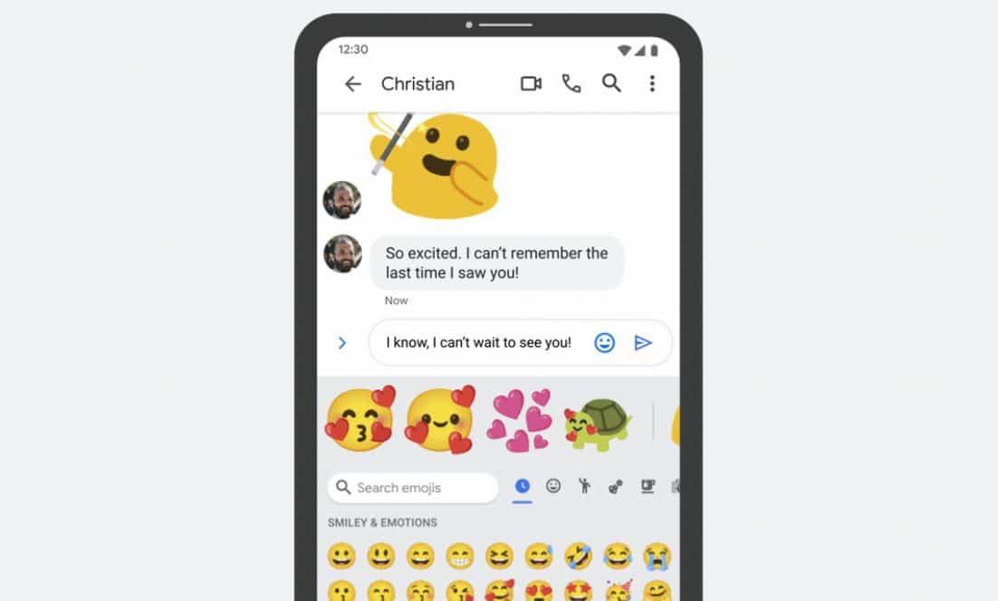 gboard emoji kitchen vorschlag