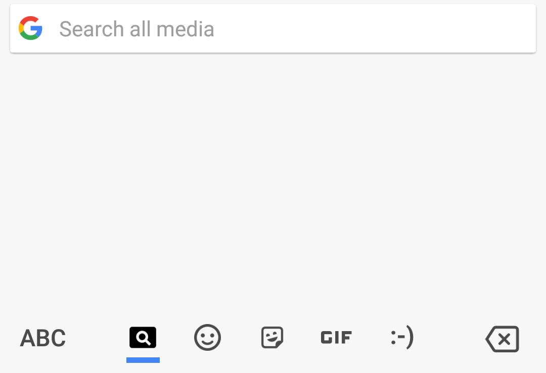 gboard search media