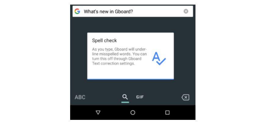 gboard spellcheck