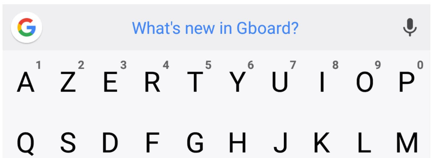 gboard whats new