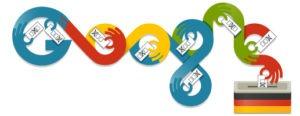 Google Doodle Bundestagswahl 2013