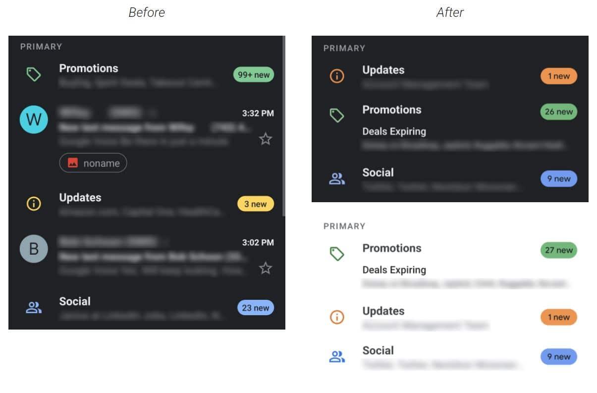 gmail colors label