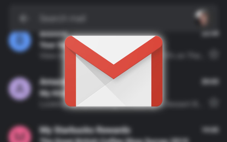 gmail dark logo