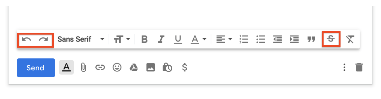 gmail editor