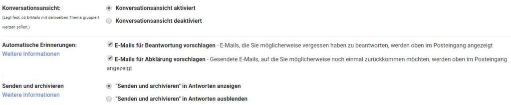 gmail erinnerungen