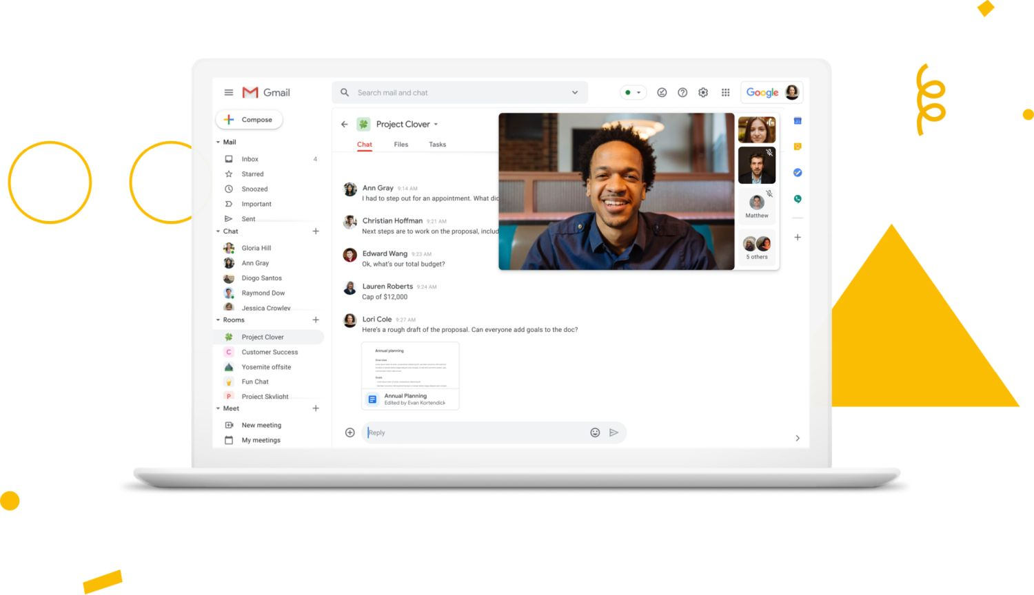gmail g suite redesign