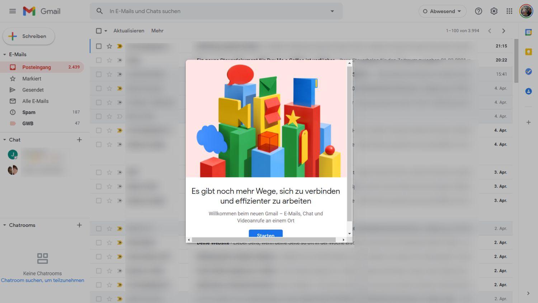 gmail google chat desktop