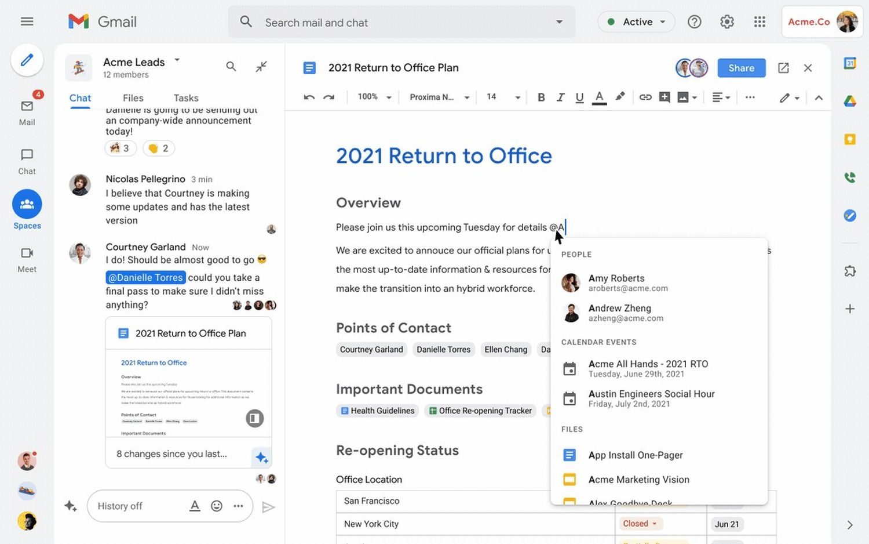 gmail google workspace 3