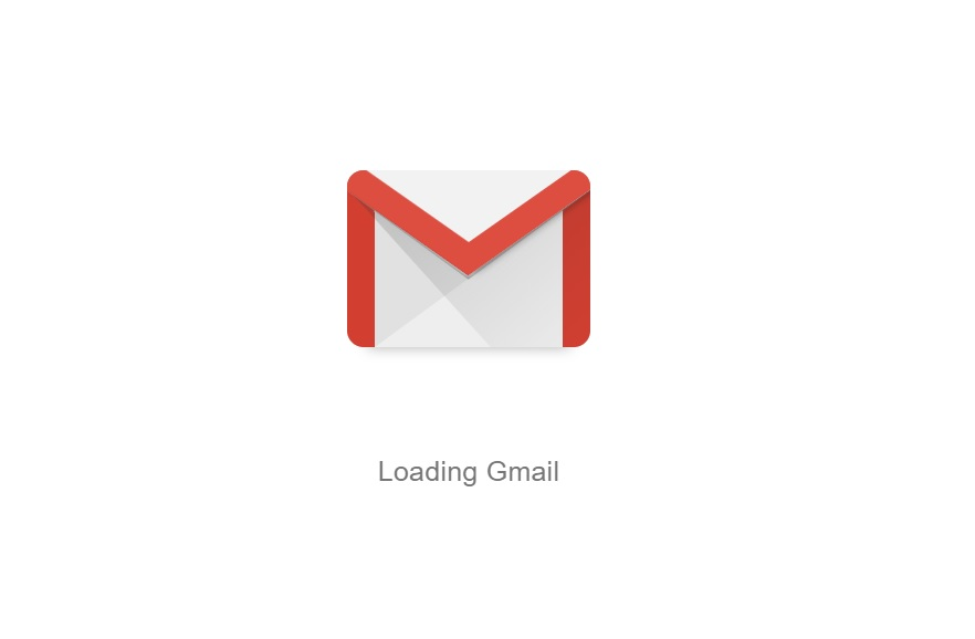 gmail logo white