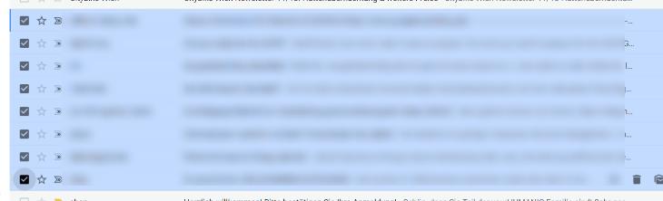 gmail mails markieren