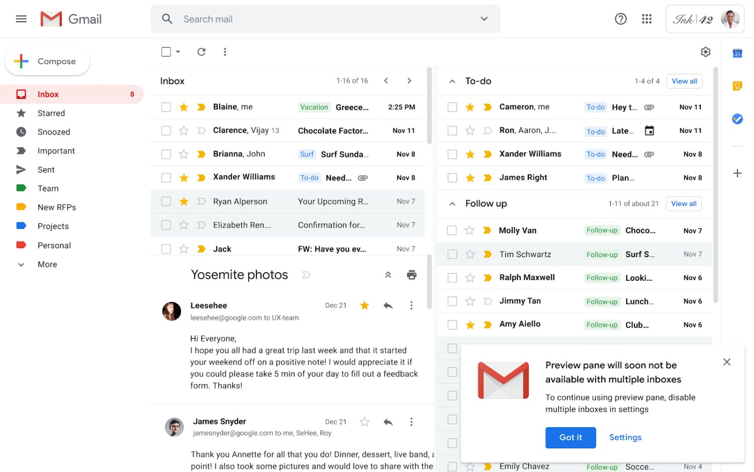 gmail multiple 1