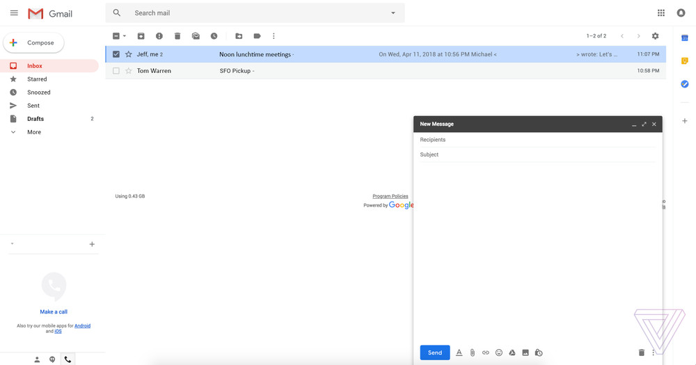gmail redesign 4