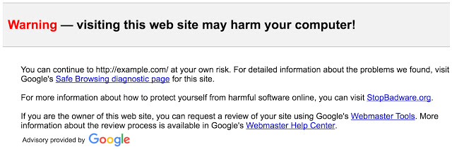 gmail safebrowsing