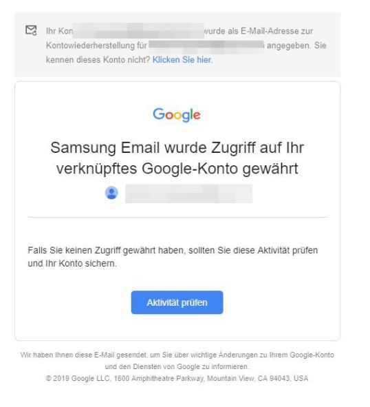 gmail samsung email