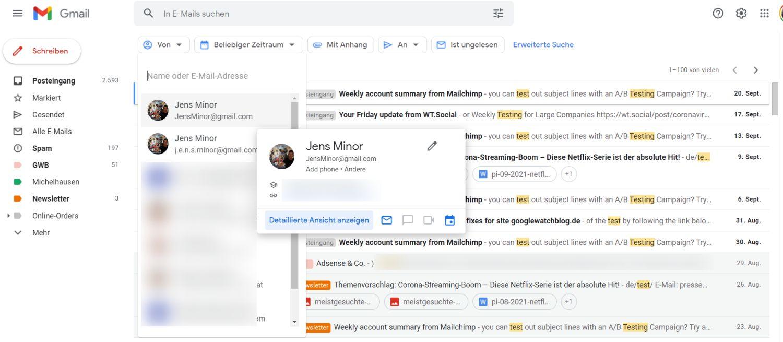 gmail suchfilter