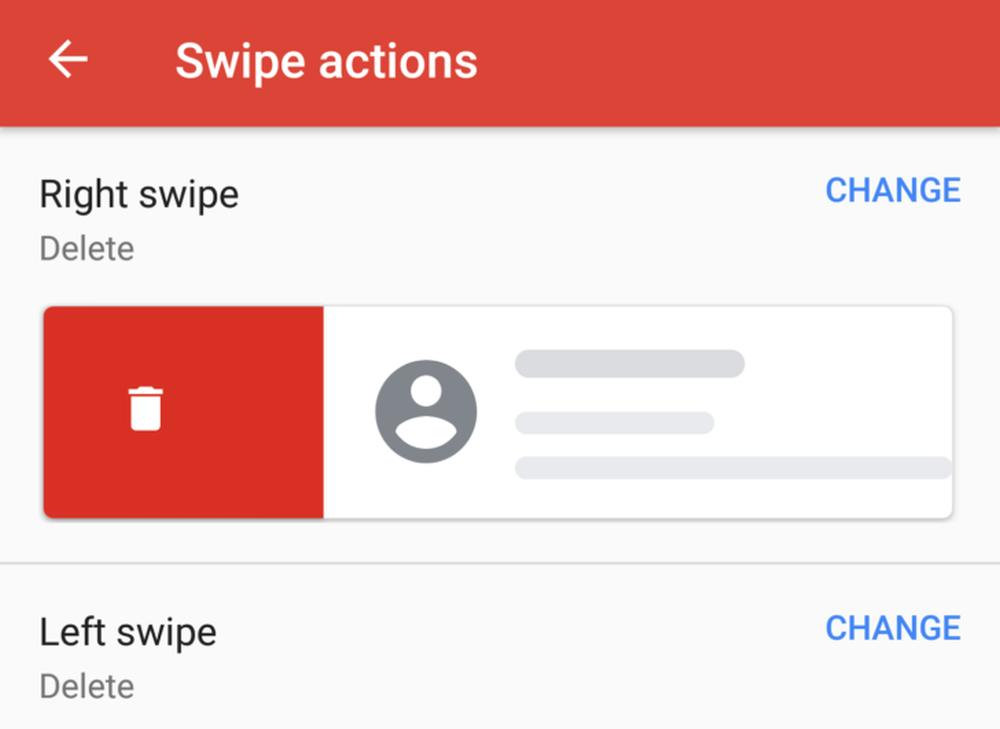 gmail swipe