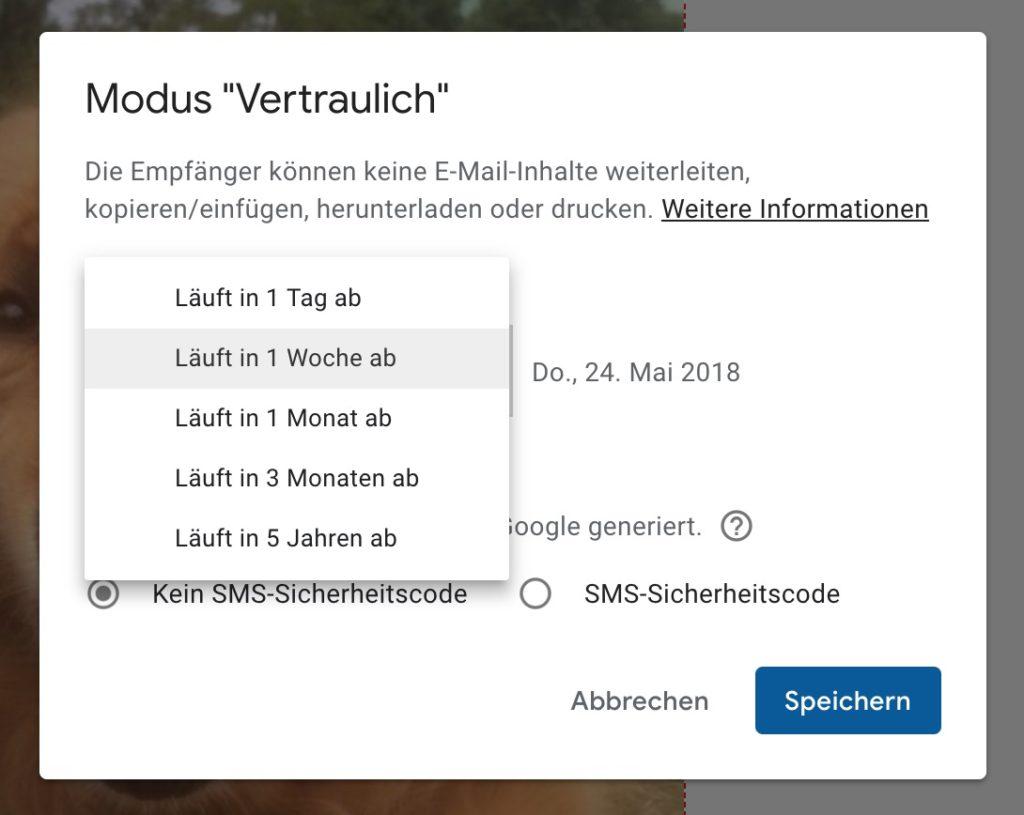 gmail vertrauliche emails