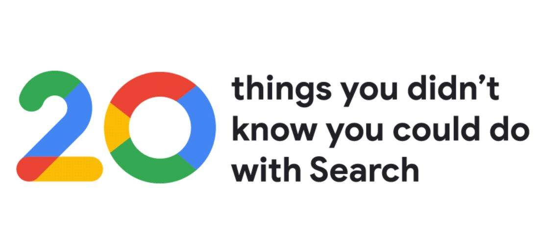 google 20 things