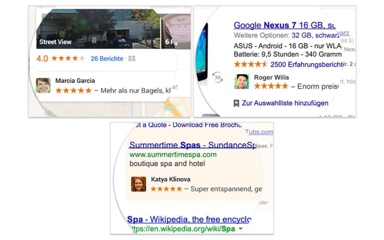 google account soziale empfehlungen