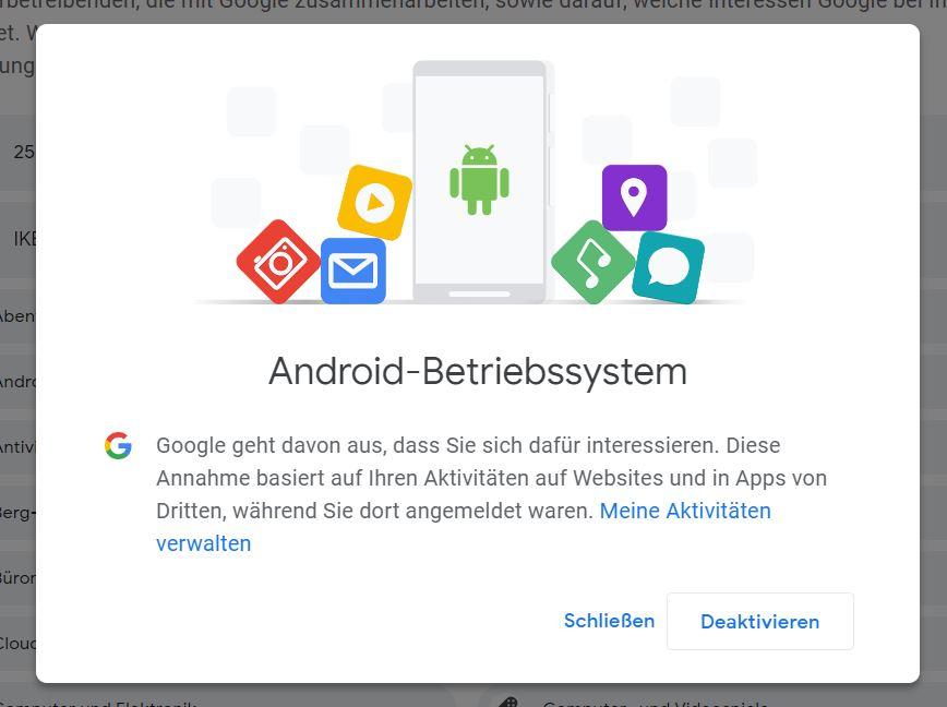 google ads details