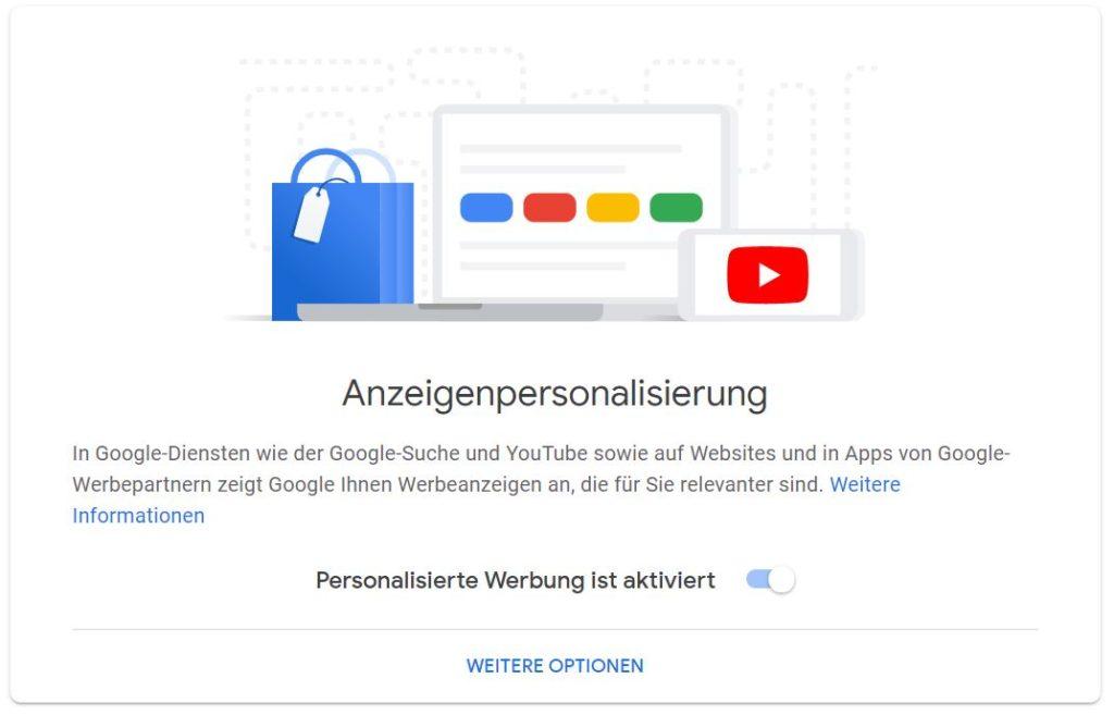 google ads personalisierung