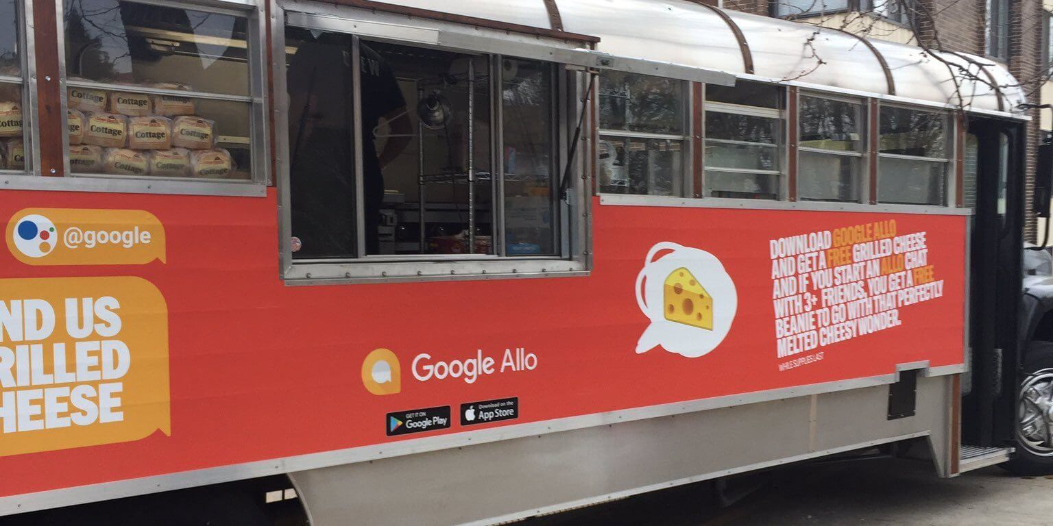google allo food truck