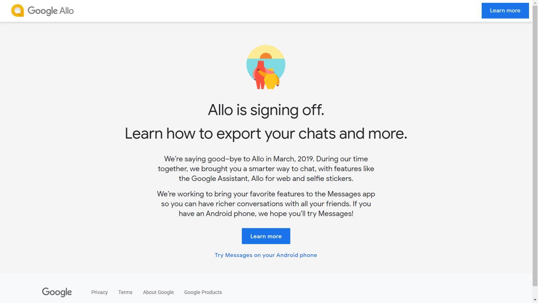 google allo offline