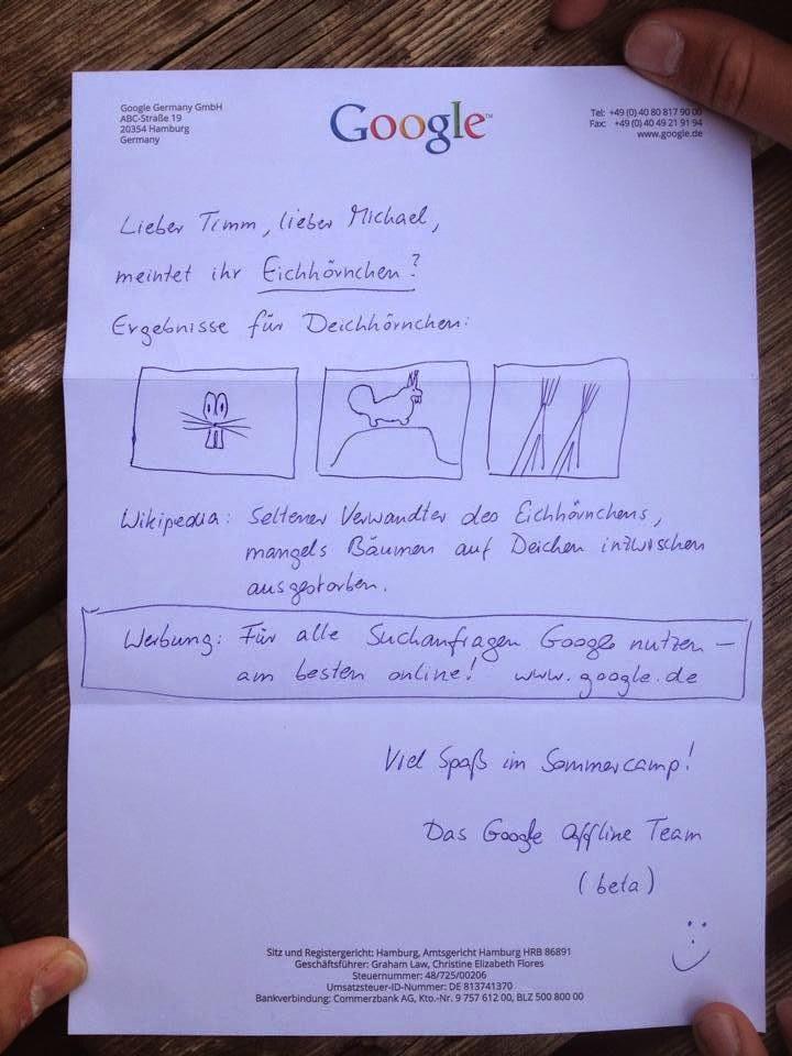 google-antwort