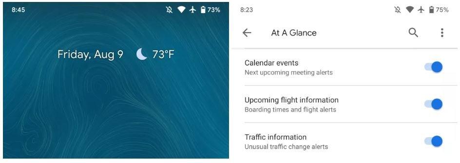 google app at a glance