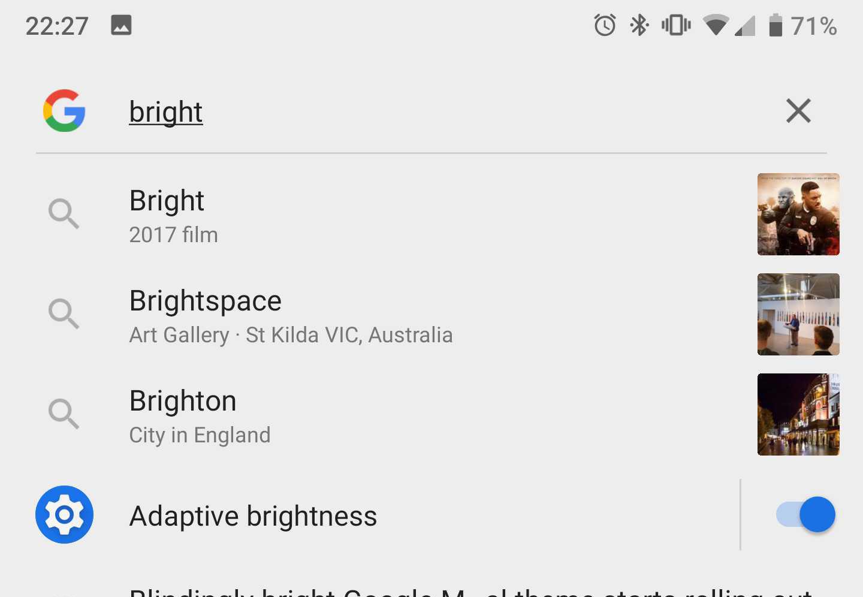 google app slice